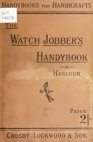 THE WATCH JOBBER'S HANDYBOOK